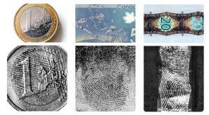 EVISCAN fingerprint banknotes