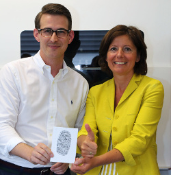 Minister-President visits German eForensics GmbH