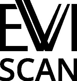 EVISCAN logo (b/w)