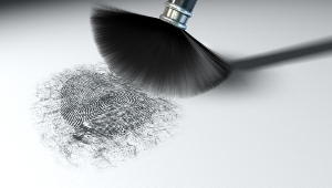 visualizing latent fingerprint