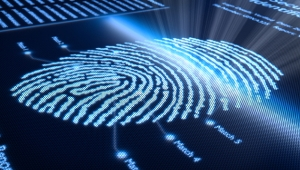 Fingerprint recognition- scan of a fingerprint