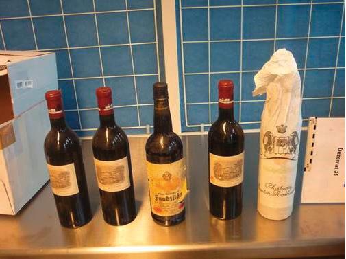 precious wine bottles