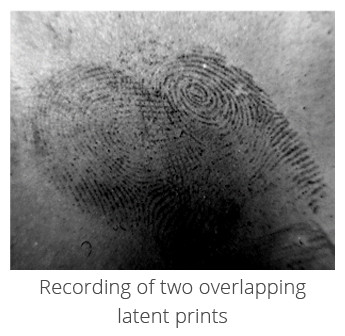 overlapping fingerprints eviscan