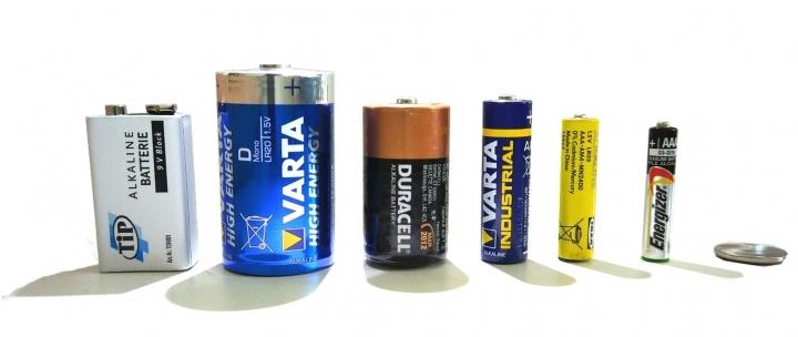 Untersuchte Batterien